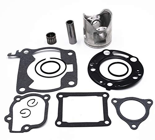 Carbman 53.94mm Top End Kit Piston Gaskets Bearing Compatible with CR125 2000 2001 - Kits Motorcycle Piston