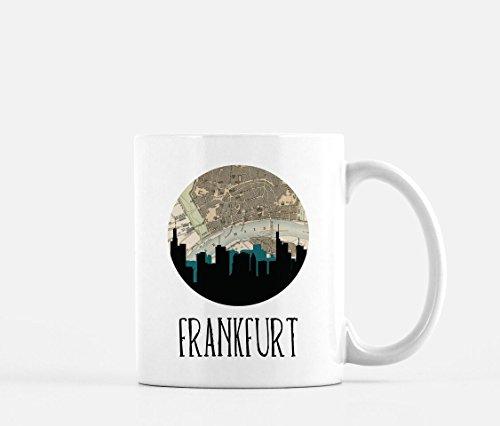 Frankfurt Skyline Coffee Mug ()