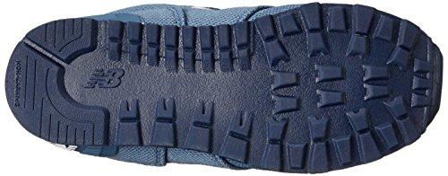 New Balance KL574 Pique Polo Pack Running Shoe (Infant/Toddler/Little Kid/Big Kid) Blue/Black