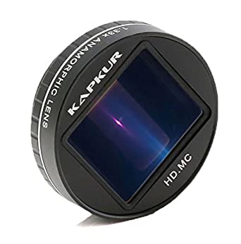 san francisco 3197c 20a79 Kapkur Anamorphic Lens HD 4K 1.33X for iPhone/Galaxy S8 Shot by ...