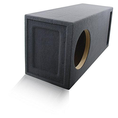 3.0 Cu. Ft. Ported / Vented MDF Sub Woofer Enclosure for Single 12'' Car Subwoofer (3.0 ft^3 @ 35Hz) Made in U.S.A.