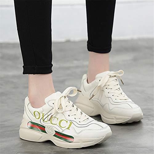 Comfort Cross Un Yan Corsa Scarpe Sneakers Primavera Da Pelle Allenamento Atletica Traspirante Lace Donna Fitness E autunno Up 104Rw