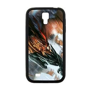 Anime Dragon Warrior Flight Wings Fantasy Phone Case for Samsung Galaxy S 4