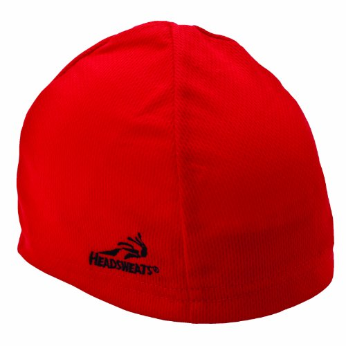 Headsweats Skullcap Beanie, Red, One Size