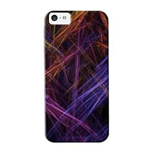Durable Case For The Iphone 5c - Eco-friendly Retail Packaging(electric Rainbow)