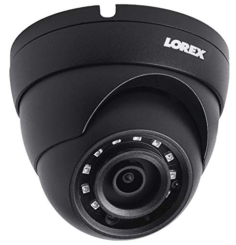 Lorex LNE4422 4MP 2K HD IP Camera with Color Night Vision (Dome) w/ 100′ Cat5e Cable (Black, 1 Camera)