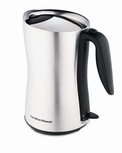 Hamilton Beach 40898 Cool-Touch Cordless 8 Cup Electric Kettle