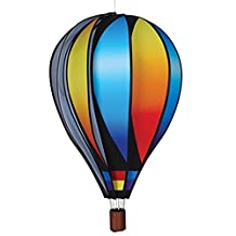 Hot Air Balloon Shaped Wind Spinner (26in) - Sunset Gradient