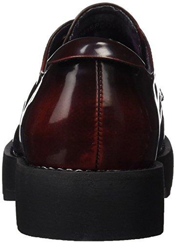 MTNG Originals 61272, Zapatos de Cordones Oxford para Mujer Rojo (FLOREN BURDEOS)