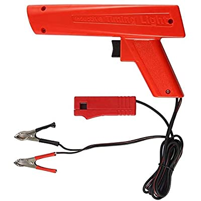 Houkiper Engine Timing Light Automotive,Xenon Ignition Timing Light Gun, Advance Inductive Strobe Timing Light Tool for Car Vehicle Motorcycle, Marine: Automotive