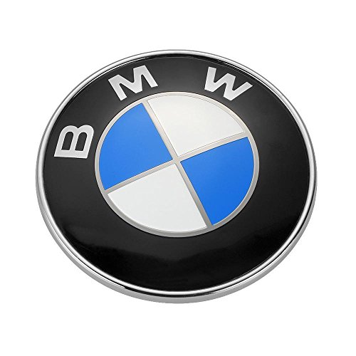 ZZHF1 Car Emblem 82mm For BMW 2 Pin Front Hood or Rear Truck Logo Badge Decal 51148132375 Front Rear Emblem