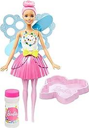 Boneca Barbie Fada Bolhas Mágicas, Rosa, Mattel
