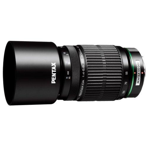 PENTAX DA 55-300mmF4-5.8ED(with case, Hood, Cap) by Pentax