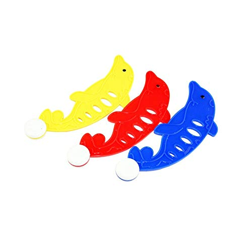 HaiDepTrai Diving Toy 3 Pcs/Set Dolphin Buoy Throwing Swimming Pool Diving Game Children's Underwater Diving Sticks Toy Pool Accessories