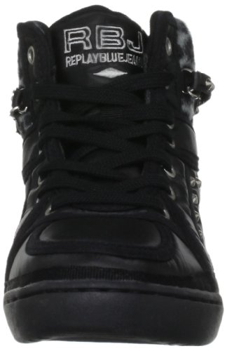 Schwarz Damen Sneaker Black Replay Thelma a64xqR