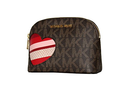 MICHAEL Michael Kors Women's CINDY HEARTS Travel Pouch Make
