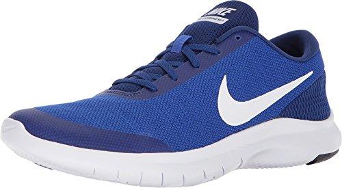 Nike Mens Flex Experience RN 7, Hyper Royal/White-DEEP Royal Blue, 9.5 D(M) US (Men Nike Basketball Shoes Hyper)