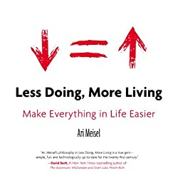 Less Doing More Living by Ari Meisel
