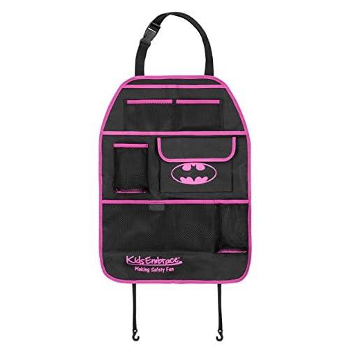 KidsEmbrace WB KidsEmbrace Batgirl Deluxe Backseat Kick Mat Organizer