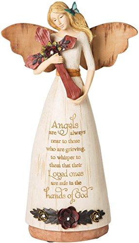 Pavilion Gift Company 02969 Sympathy Angel Figurine, 9-Inch -