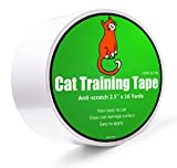 """Anti-scratch Cat Tape for Furniture - Stop Cat from Scratching Couch,Corners of Chair,Door frame, Counter Top and Carpet,Clear Double Sided Tape for Cat Scratching Cat Training Tape 2.5"""" x 16 Yard"""
