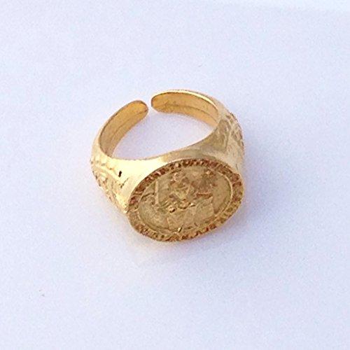 Magna Seal - Magna Carta Seal King John Historical Costume Ring