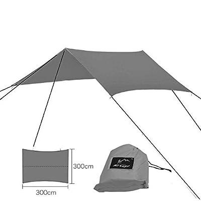 Suyi Tente Pare-Soleil Imperméable Bâche anti-pluie Toile de tente Étanche  pour Camping 5d8fd7103e3e