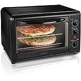 Hamilton Beach 31121A Large Capacity Countertop Oven with Convection and Bake Pan, Black