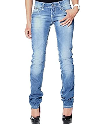 Cipo/&Baxx Damen Jeans Hose JEANSBLAU NEU