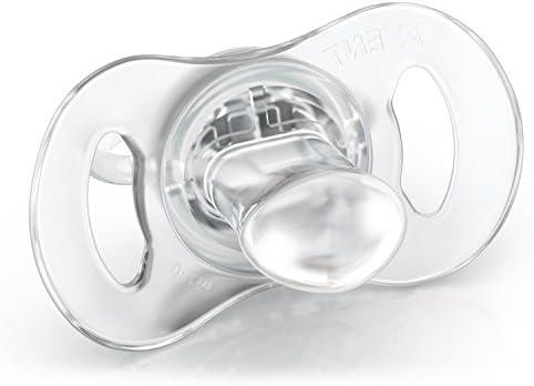 Philips Avent SCF151/01 - Set de 2 chupetes mini para bebé, 0-2 meses, color azul