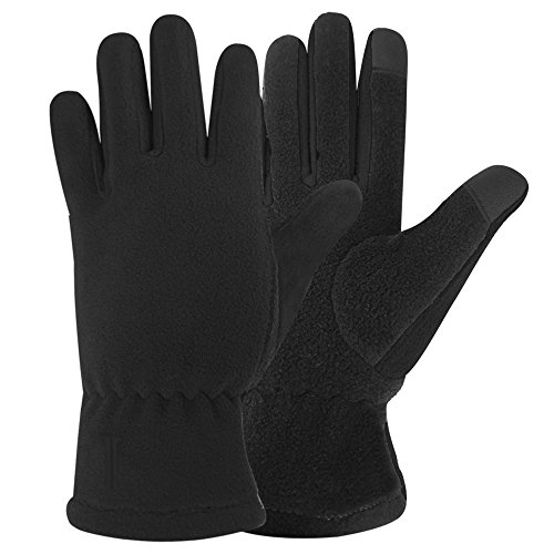Igloos Boys Microfleece Touch Gloves