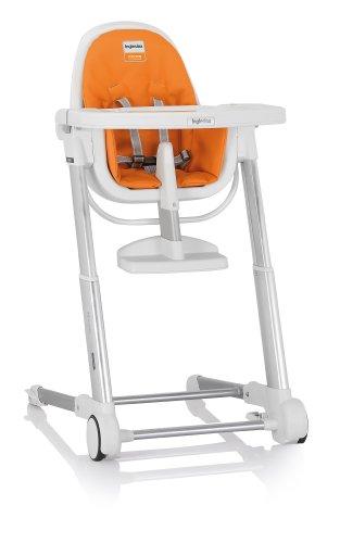 Inglesina Zuma Highchair, White/Orange