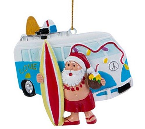 Beachcombers SS-BCS-04270 Ornaments (Ornament Surfing Santa)
