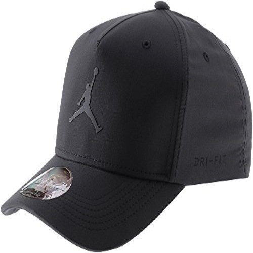 Amazon.com  Nike Mens Jordan Jumpman CL99 Woven Hat Black 897559-010 ... c774187ed3cb
