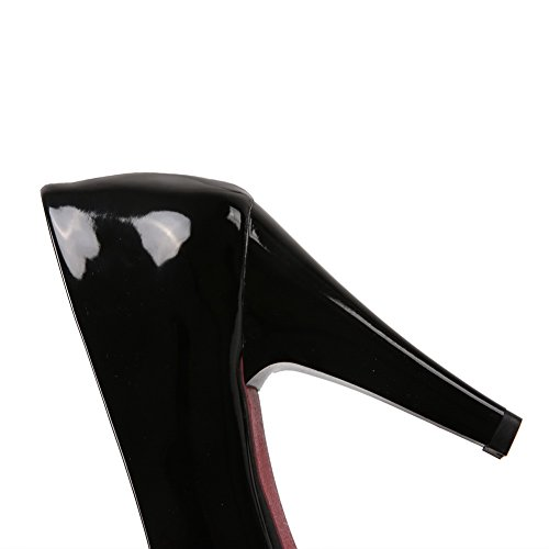 Leather 1TO9 Formal Pull On Sandals Black Girls Patent xXTXqwPU