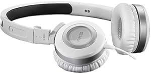 AKG K 430 - Auriculares mini plegables, color blanco