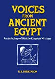 Voices from Ancient Egypt, R. B. Parkinson, 0806123621