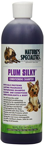 Nature's Specialties Plum Silky Pet Shampoo, 16-Ounce
