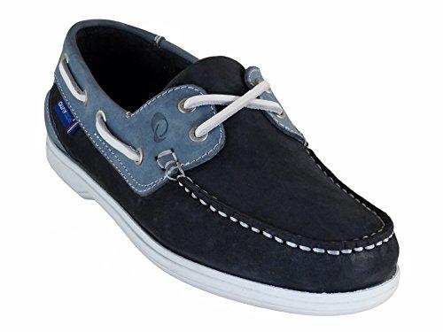 Portugais en Bleu Bateau Bleu Femmes cuir Marine Bermuda Quayside Chaussures qOAw4xEpnH