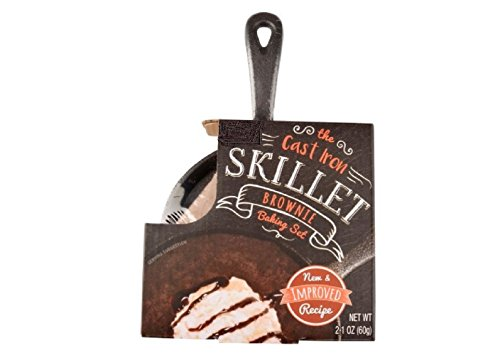 (Cast Iron Skillet Brownie Baking Set)