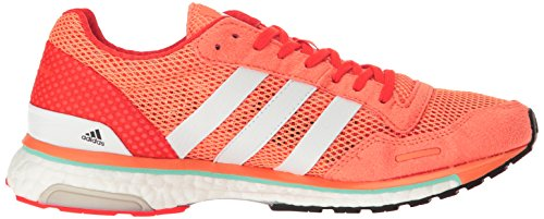 Yellow 6 Glow Adizero Us White Adios M Running shock Sun 3 white Adidas Shoes Orange Red 0SYwY