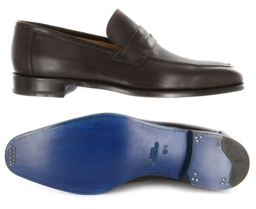 Nouveau Sutor Mantellassi Chaussures En Cuir Marron 11.5 / 10.5