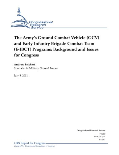 Infantry Combat Vehicle - The Army's Ground Combat Vehicle (GCV) and Early Infantry Brigade Combat Team (E-IBCT) Programs: Background and Issues for Congress