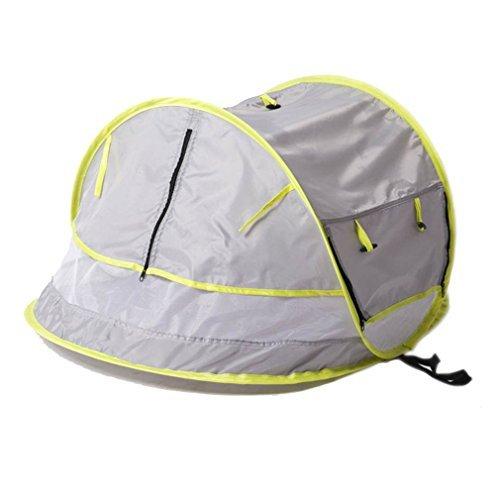 Pop Up Moustiquaire et 2 piquets portable b/éb/é Tente de plage UPF 50 Super l/éger b/éb/é Moustiquaire Sinotop Tente de voyage pour b/éb/é Abri Soleil