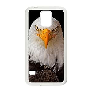 American Bald Eagle Customized Cover Case with Hard Shell Protection for SamSung Galaxy S5 I9600 Case lxa#822708 Kimberly Kurzendoerfer