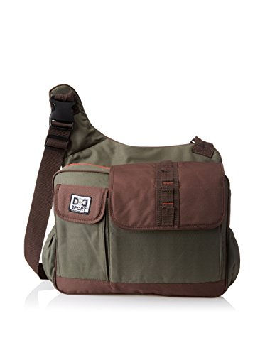 Diaper Dude Sport 'His Dudeness' Diaper Bag by Chris Pegula - Olive Messenger...