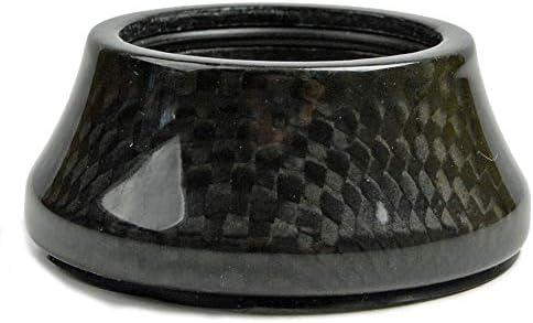 """1/"""" OMNI Racer WORLDS LIGHTEST Carbon Fiber Headset Spacer Set 2,3,5,10,15 MATTE"""