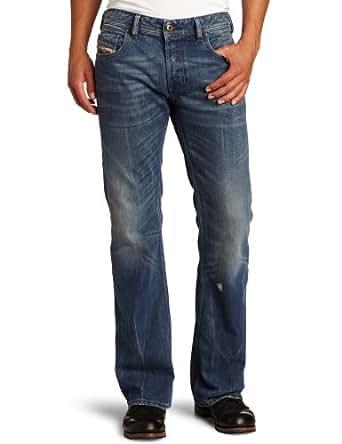 Diesel Men's Zathan Regular Bootcut Leg Jean 0802E, Denim, 30x30