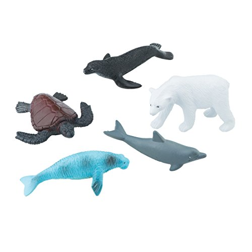 SmileMakers Arctic Ocean Animal Figurines - Prizes 48 per Pack