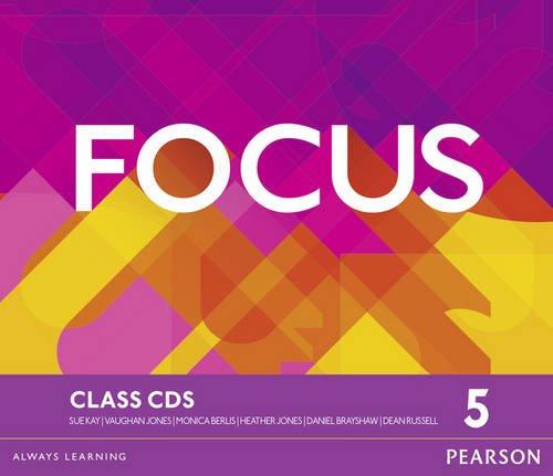 Read Online Focus BrE 5 Class CDs PDF